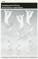 Ghost Spiral Hanging Decorations